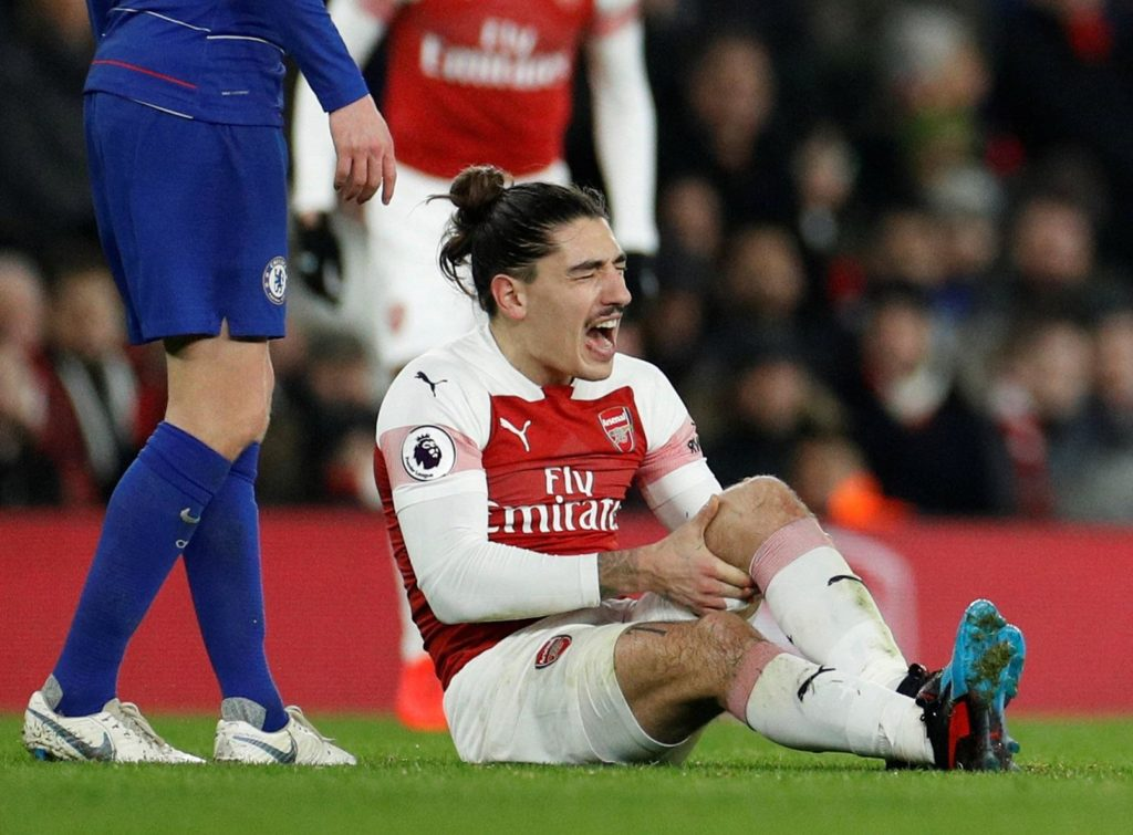 Arsenal star Hector Bellerin looks set to miss the rest of the season after reports claimed he has ruptured his cruciate ligament.