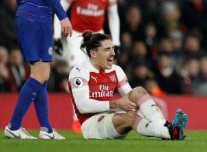 Arsenal boss Unai Emery admits Hector Bellerin's injury looks serious after he was stretchered off in the victory over Chelsea.