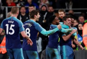 Harry Winks headed home a last-gasp winner as Tottenham Hotspur came from behind to defeat Fulham 2-1 at Craven Cottage.
