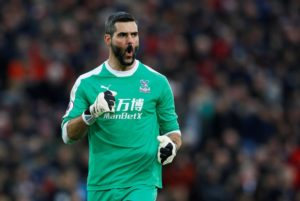 Julian Speroni says Saturday's appearance at Liverpool has reaffirmed his desire to play regularly for Crystal Palace.