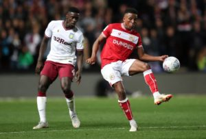 Niclas Eliasson says he is enjoying the competition for places in the Bristol City squad this season.