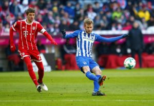 Fabian Lustenberger admits he could not resist the pull to go back 'home' and will leave Hertha Berlin for Young Boys this summer.