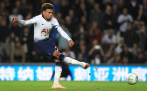 Mauricio Pochettino says Dele Alli should be fit for Tottenham in a fortnight at the latest as he recovers well from a hamstring injury.