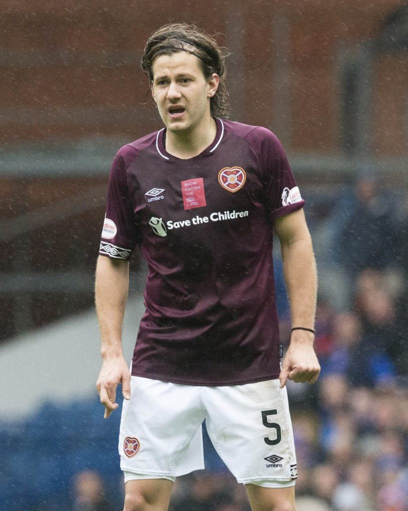 Peter Haring feels honoured to have been offered a fresh deal by Hearts just seven months after moving to Tynecastle.