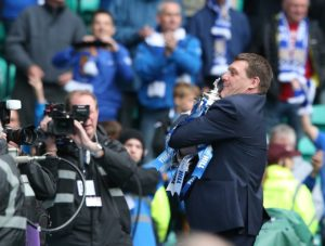 St Johnstone manager Tommy Wright has told his men to draw on their history of upsetting the odds when they travel to Celtic Park.