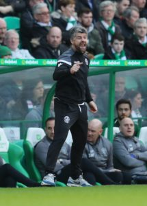 Motherwell manager Stephen Robinson spoke of'laughable hypocrisy' as he dismissed the furore over their Celtic Park goal.
