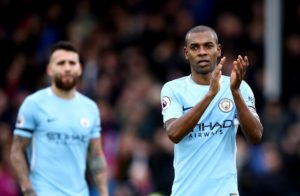 Manchester City will be without Aymeric Laporte, Fernandinho, Gabriel Jesus and John Stones when they face West Ham on Wednesday.