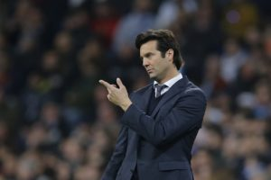 Real Madrid boss Santiago Solari has refused to give up on winning La Liga this season despite Sunday's shock defeat to Girona.
