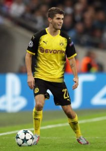 Borussia Dortmund head coach Lucien Favre has hinted that Christian Pulisic is closing in on a return to fitness.