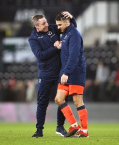Millwall manager Neil Harris hailed his team's shock 1-0 win at Derby as one of the best away displays of his managerial reign.