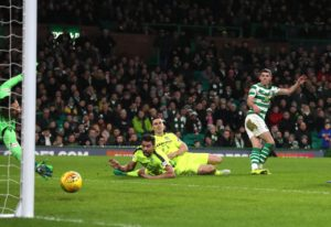 Celtic showed their strength in depth with a routine 2-0 win over Hibernian in their Ladbrokes Premiership clash at Parkhead.