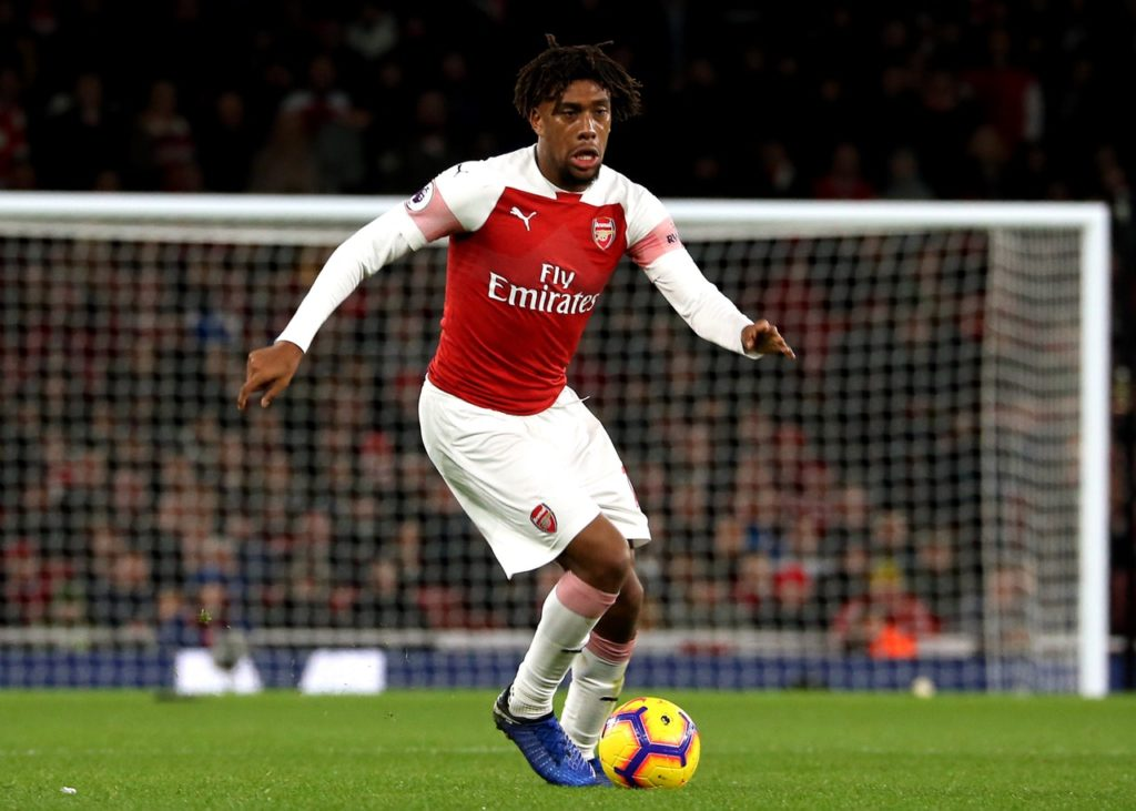 Arsenal boss Unai Emery has challenged Alex Iwobi to continue developing after an impressive performance on Saturday.