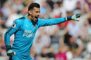 Newcastle keeper Martin Dubravka says he is not a robot at he attempts to learn from a series of uncharacteristic errors.