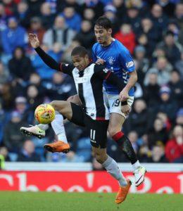 St Mirren striker Simeon Jackson has backed Jermain Defoe over the controversial penalty the Rangers striker won against his team.