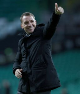 Boss Brendan Rodgers offered Celtic fans some positive news on the injury front following their 2-0 win over Hibernian at Parkhead on Wednesday night.