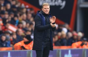 Eddie Howe has admitted his Bournemouth squad is 'stretched at the moment' due to injuries but he's trying to stay positive.