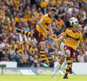 Carl McHugh will make sure he is playing a supporting role if not handed the starting place he is striving for in Motherwell's team.
