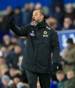 Wolves boss Nuno Espirito Santo says he will not be letting his players take their foot off the gas during the remaining weeks of the season.