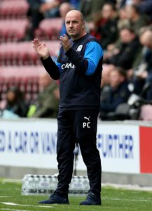 Wigan manager Paul Cook was happy enough with a point from a Sky Bet Championship stalemate with Stoke at the DW Stadium.