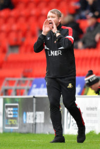 Boss Grant McCann branded Doncaster's second-half performance 'bang, bang average' as his side had to settle for a 1-1 draw at Scunthorpe.