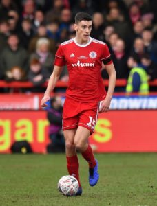 Accrington will be without defender Ross Sykes for the Sky Bet League One clash with Southend.