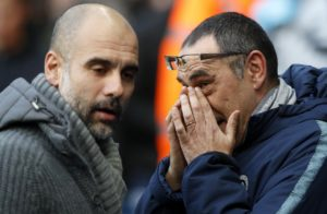Gianfranco Zola says Chelsea manager Maurizio Sarri must be afforded the same time that Pep Guardiola got with Manchester City.