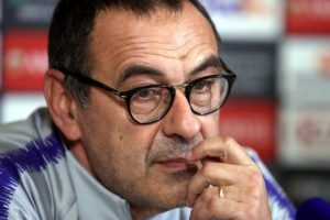 Maurizio Sarri cannot comprehend why his position at Chelsea is precarious when he considers Pep Guardiola's first season at Manchester City.