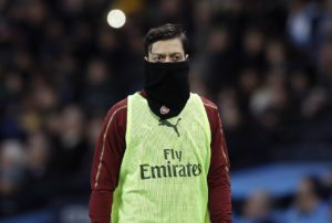 Unai Emery has told Mesut Ozil he needs to shake off his minor injuries and illnesses to earn a regular place in the Arsenal side.
