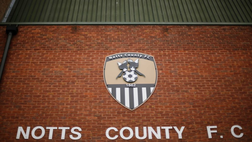 Notts County have been issued with a winding-up petition by HM Revenue and Customs.