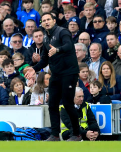 Derby County boss Frank Lampard insists his side are not going through a crisis despite slipping away from the top six.