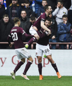 Hearts full-back Marcus Godinho has suffered injury and omission on artificial pitches as he backed calls to scrap the surfaces in Scotland's top flight.