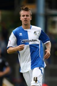 Bristol Rovers will check on the fitness of Chris Lines ahead of their Sky Bet League One clash with Blackpool.