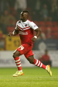 Igor Vetokele stepped off the bench to give promotion-chasing Charlton a last-gasp 2-1 victory at AFC Wimbledon.