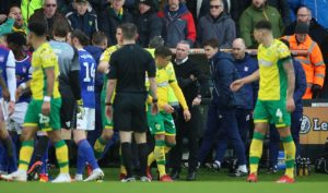 Norwich and Ipswich have been charged by the Football Association with failing to control their players during Sunday's East Anglian derby.