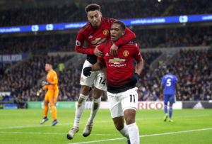 Ole Gunnar Solskjaer is hopeful Jesse Lingard and Anthony Martial will be fit for Sunday's Premier League home clash with Liverpool.