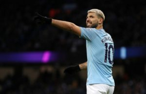 Pep Guardiola has hailed the enduring class of Sergio Aguero as the striker nears another Manchester City goalscoring milestone.