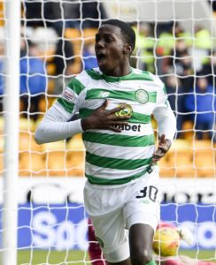 Celtic striker Timothy Weah has called Thursday's 2-0 home Europa League defeat to Valencia a 'rough night'.