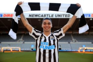 Miguel Almiron is expected to win his Newcastle debut on Monday at Wolves and the Paraguayan will be eager to make a good impression.