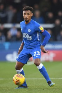 Peterborough will have Tyler Denton back from suspension when they host Shrewsbury on Saturday.