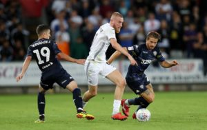 Swansea's top scorer Oli McBurnie is doubtful for Swansea's Sky Bet Championship home game with Millwall.