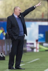 Hamilton boss Brian Rice took inspiration from Rangers as he led his side to a stunning 2-0 victory at Aberdeen.