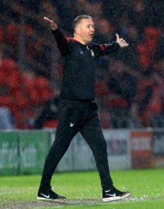 Peterborough boss Darren Ferguson was left cursing the club's catalogue of red cards as their play-off dream was dented again.