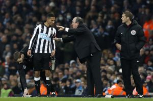 Newcastle midfielder Isaac Hayden says he has been impressed by new signing Miguel Almiron in his first few weeks at the club.