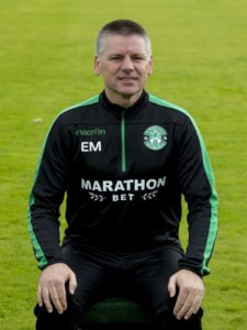 Caretaker boss Eddie May will keep Hibernian focused while club representatives are in England looking for a new manager.