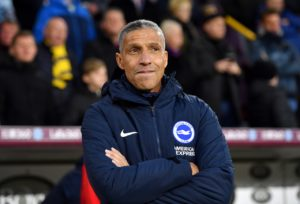 Brighton boss Chris Hughton is set to field a strong line-up for the FA Cup clash with Derby although David Button is likely to start.