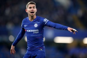 Chelsea boss Maurizio Sarri wants Jorginho to show his credentials when they face Manchester City this afternoon.