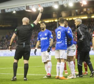 Rangers boss Steven Gerrard has warned Alfredo Morelos he will have to clean up his act if he wants to make it to the top.