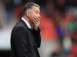 Darren Ferguson described losing his homecoming at Peterborough as a 'hammer blow' after Plymouth snatched a late 1-0 win.
