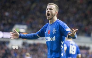 Andy Halliday is an injury doubt for Rangers' Premiership clash with Dundee on Wednesday night.