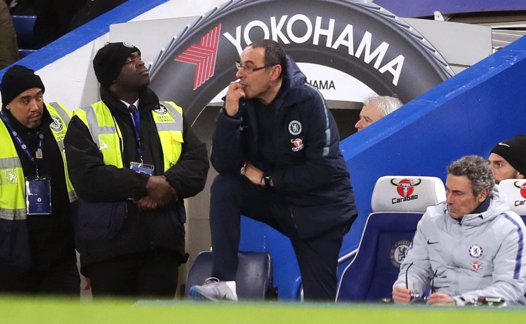Maurizio Sarri says he is not concerned about the Chelsea fans turning on him during the FA Cup loss to Manchester United.